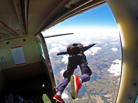 Jumping Out Of Your Airplane