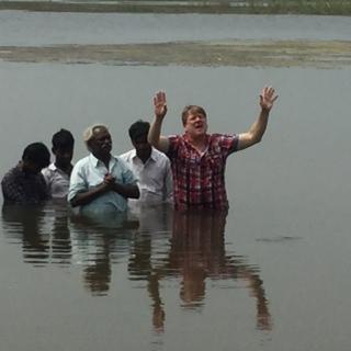 Alaric baptising - Copy