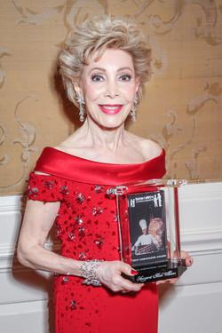 Honoree Margaret Alkek Williams with her Gaston LeNotre Ambassador Award
