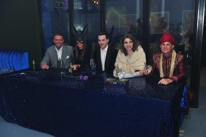 Celebrity Judges Table