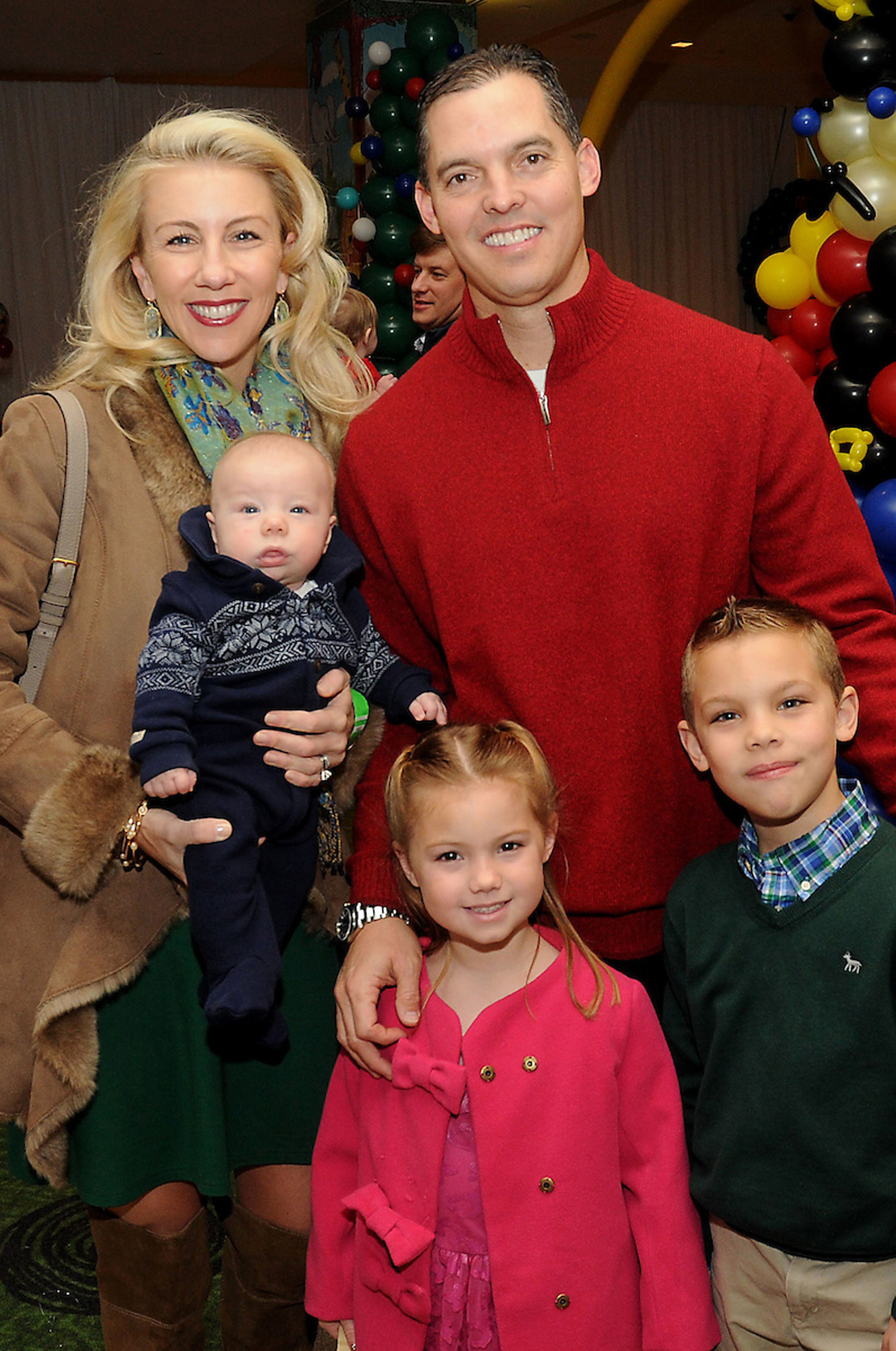 Cathy and David Herr with their children Hudson, Lauren, and Declan