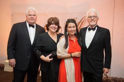 Joe and Lynne Hudson; Cristina and Lee Hudson; Photo by Jenny Antill