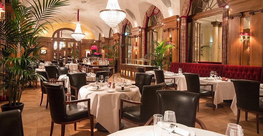 Hotel Bellevue Palace, Restaurant VUE