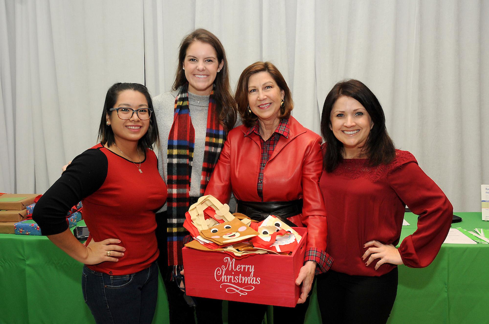Atalia Valdez, Jennifer Meyer, Janet McCloskey and Krista Fredrick
