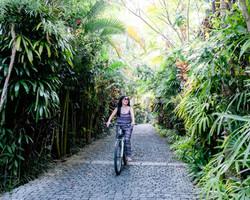 Cycling at Dwaraka the Royal Villas