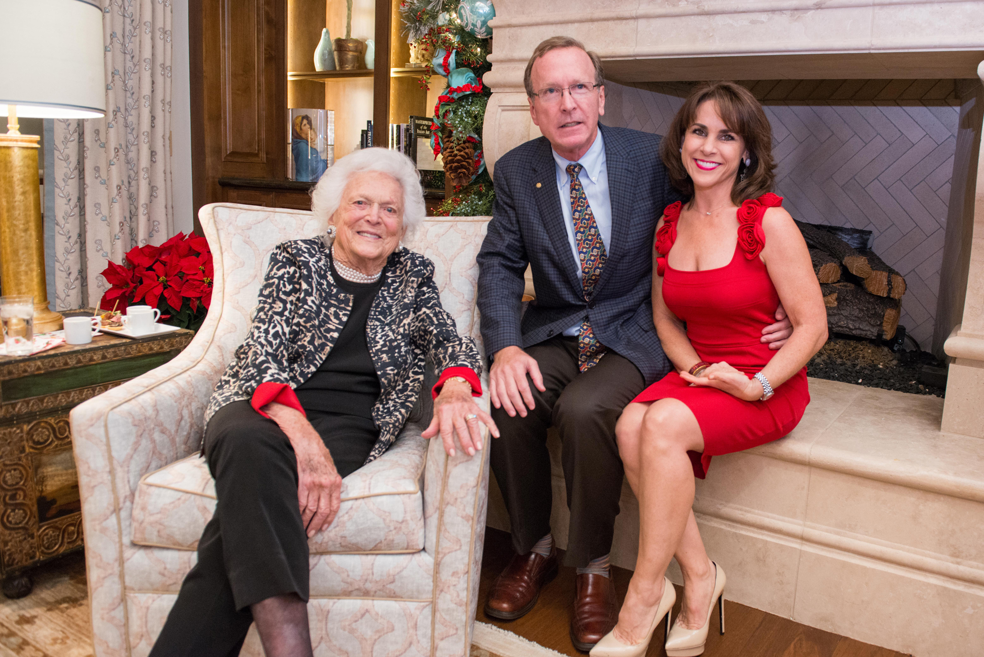 Barbara Bush, Neil and Maria Bush
