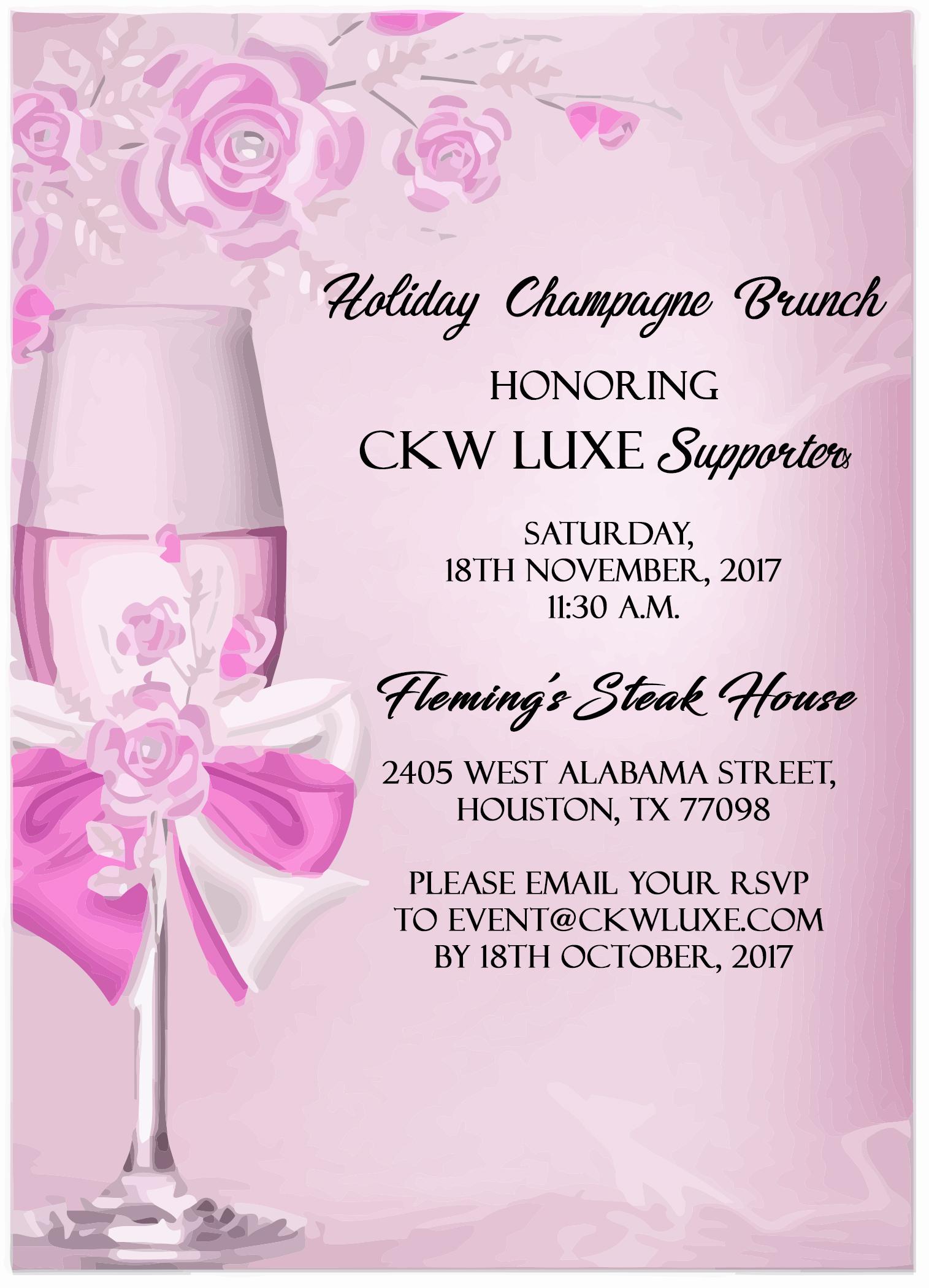 CKW Luxe Magazine