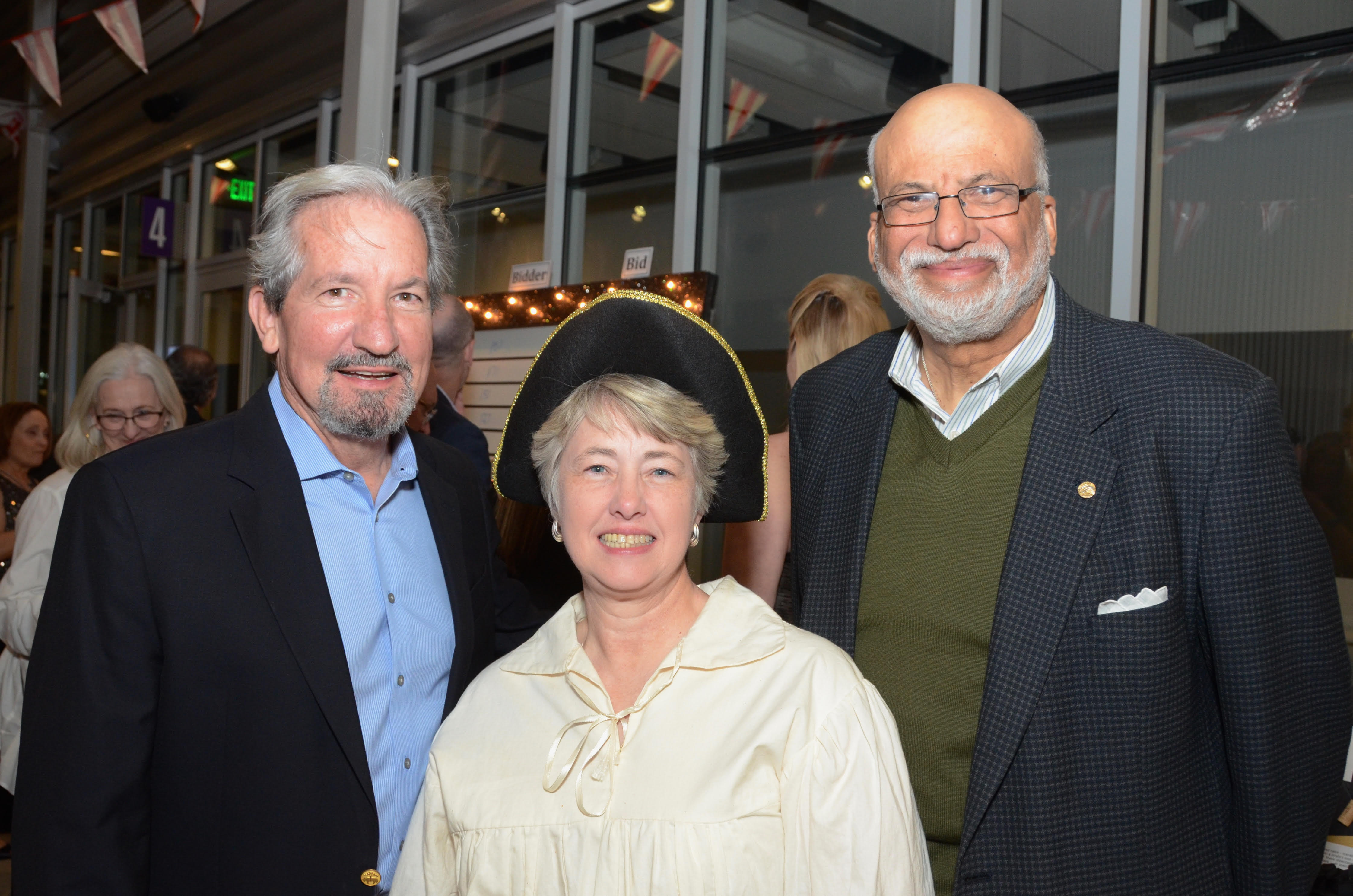 Terrence O'Rourke, Annise Parker, Larry Payne