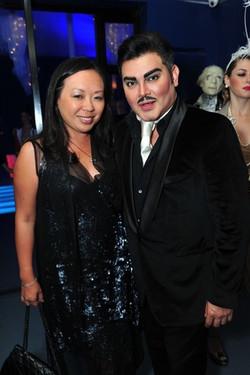 Miya Shay and Edward Sanchez