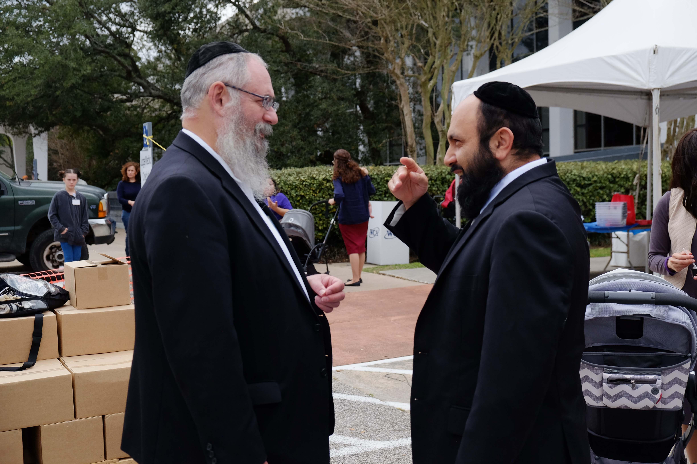 Rabbi Marinovsky and Rabbi Yaghobian