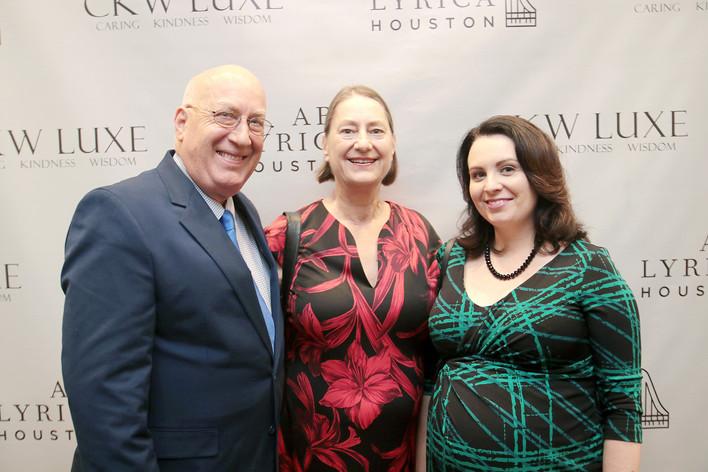 Renee Rybolt, Liz Miller and Mike Miller