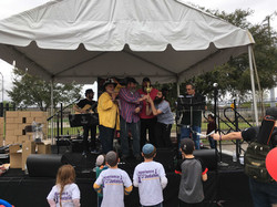 Friendship CircleChabad OutreachChai Learning Center of West Houston team accepting their 2nd place