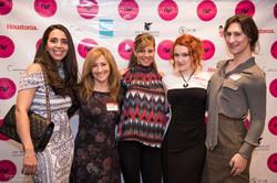 Dr Sanaz Harirchian, Dena Winkler, Cheri Hildreth, Lady McAllen Bertina, Victoria Hellyer