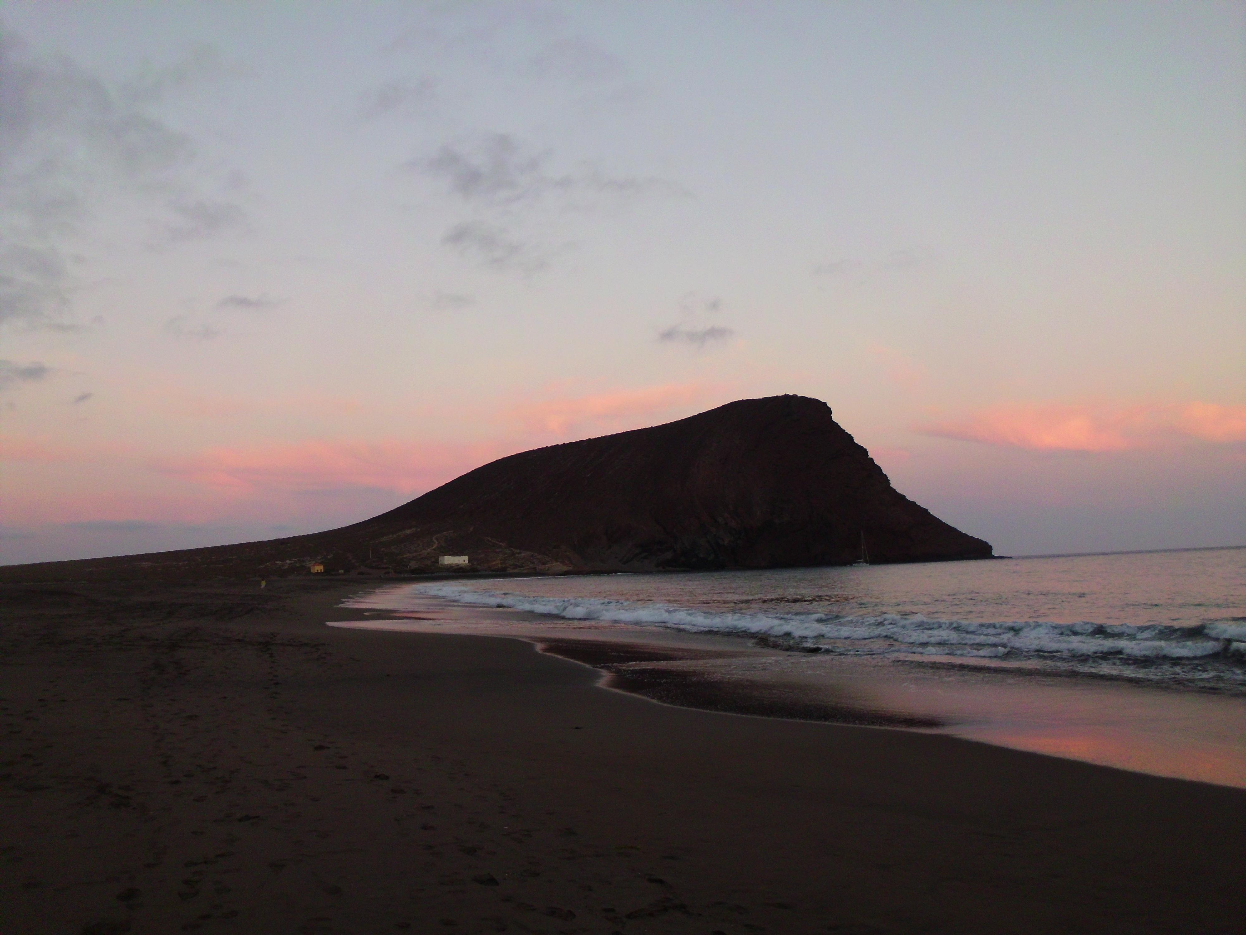 Sunset at Playa de La Tejita #2