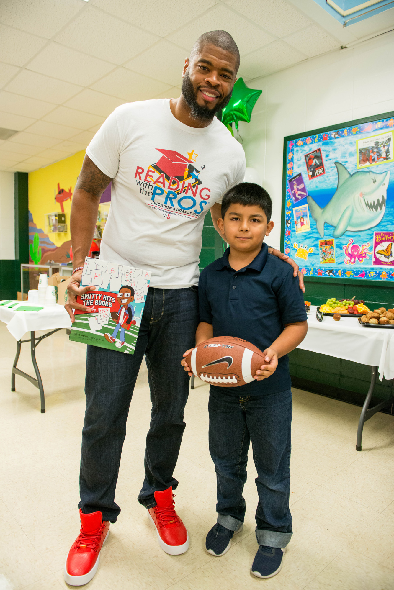 Wade Smith and Browning Elementary Student