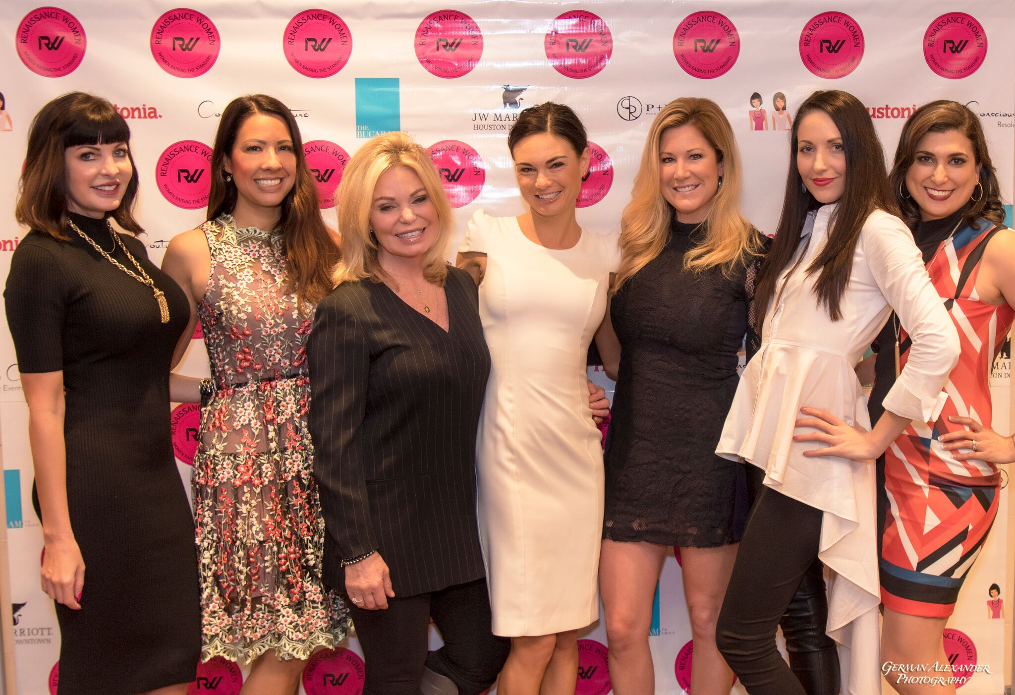 Staci Henderson, Anika Jackson, Tamilee Webb, Amanda Russell, Jen Groover, Shannah Quinn, Bianca Buc