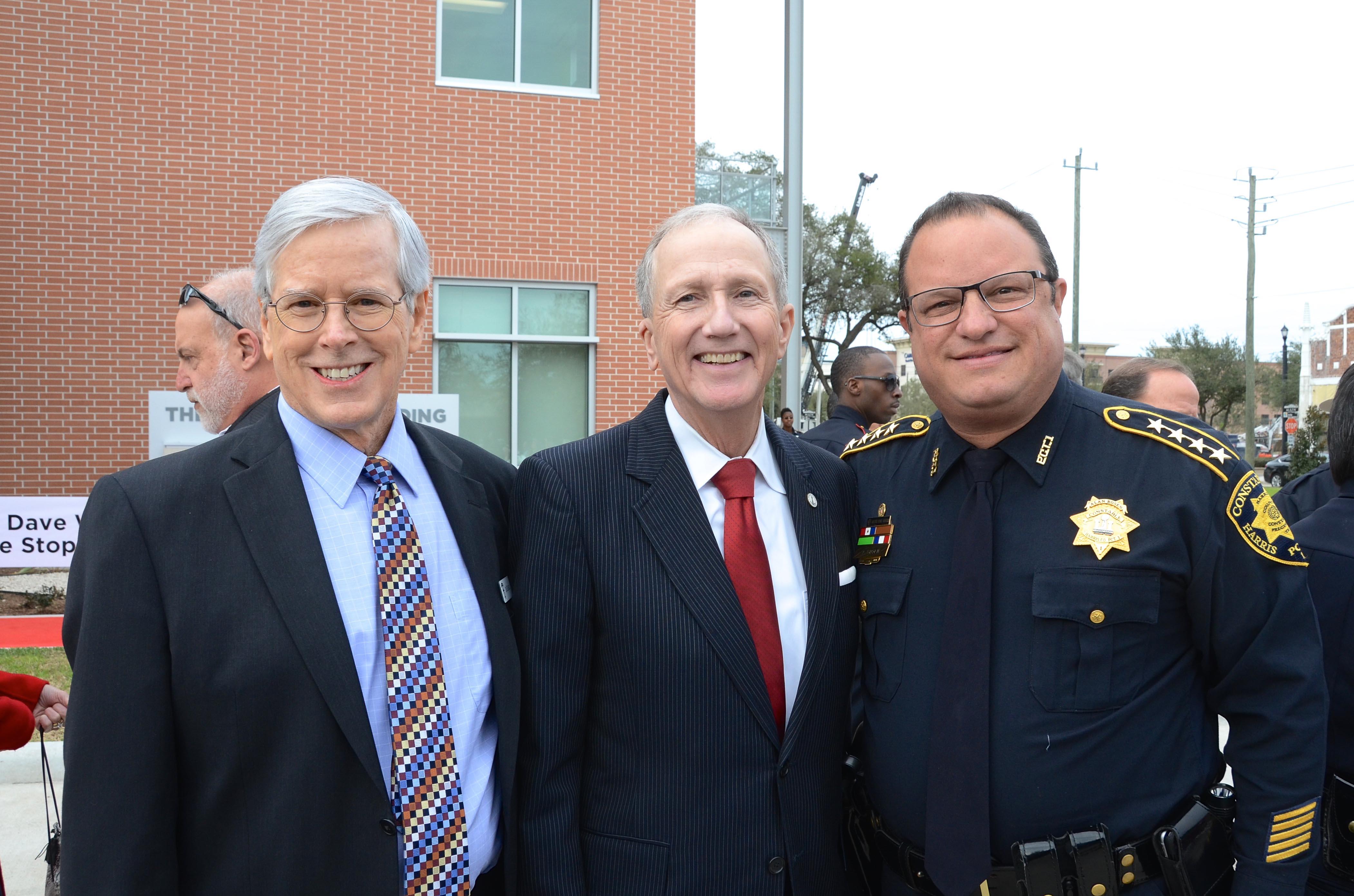 Don DeGabrielle, Harris County Attorney Vince Ryan, Constable Alan Rosen