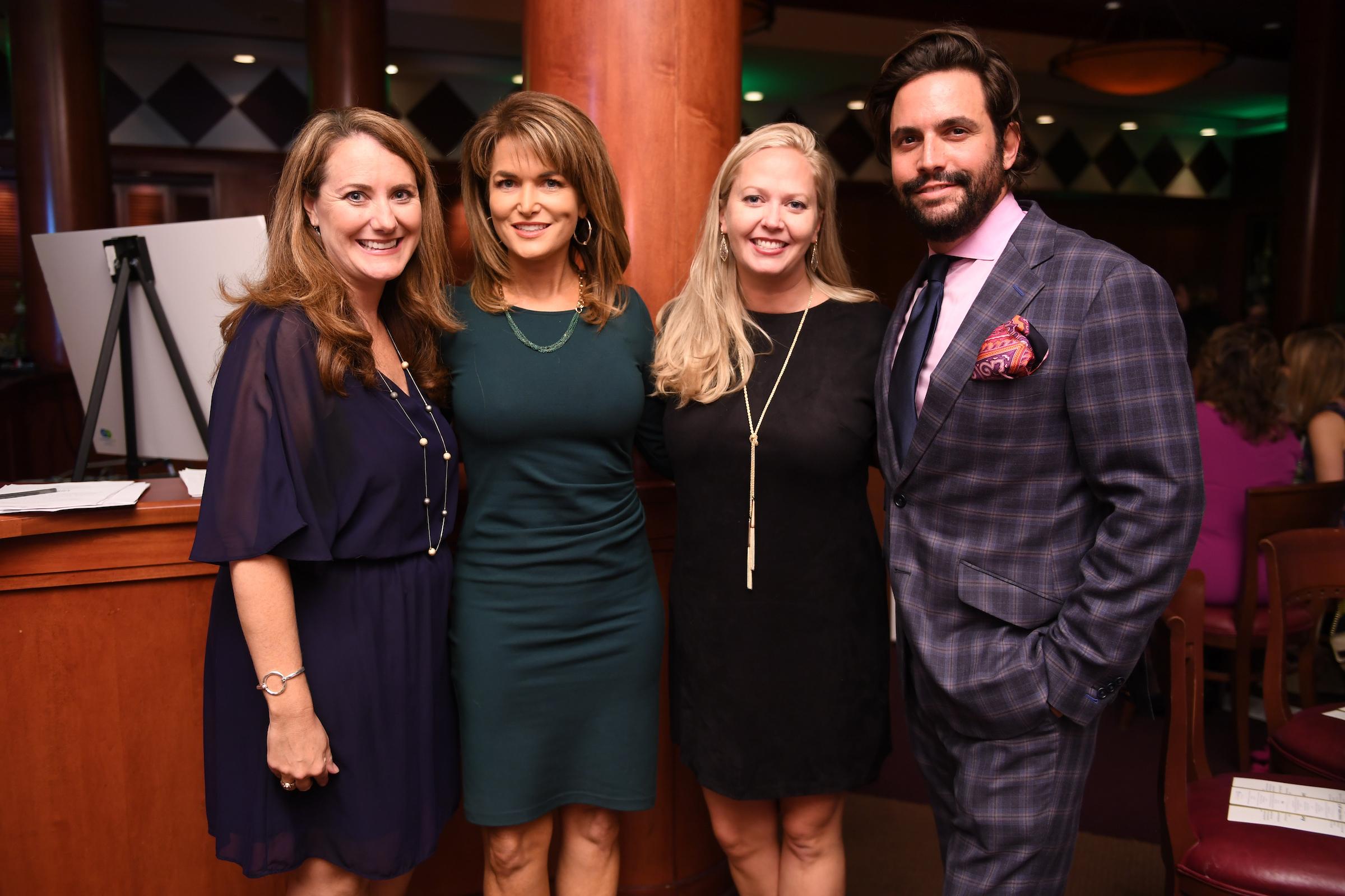 Lynn Wheeler, Melissa Wilson, Elizabeth Haines and Sam Governale