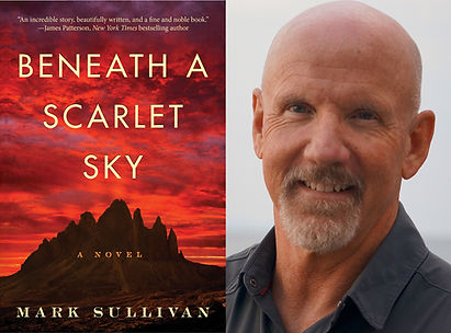 Beneath a Scarlet Sky by Mark Sullivan w