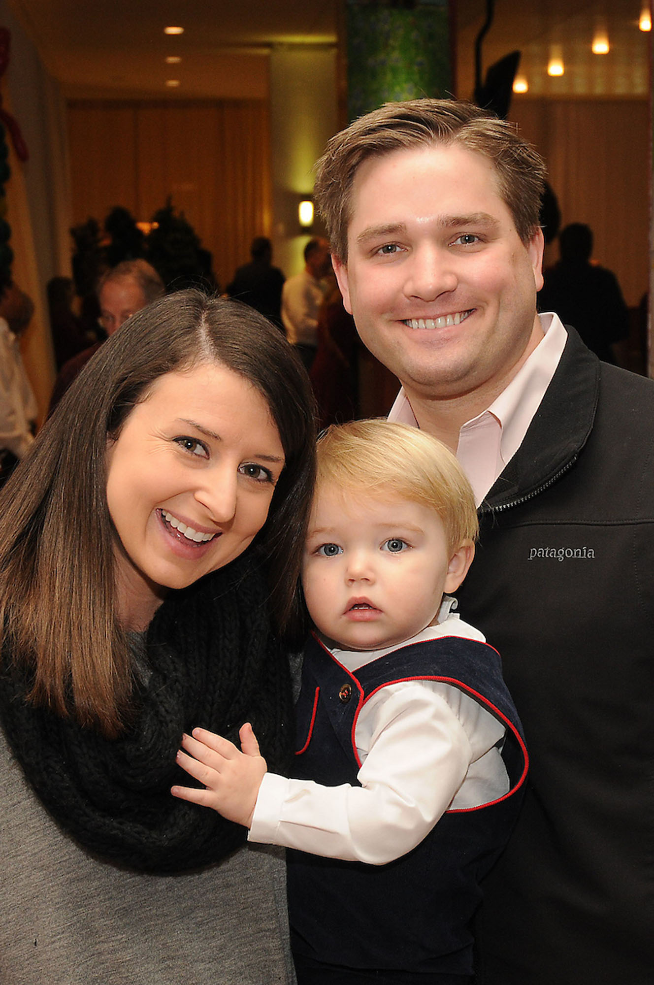 Claire and John Kruse with Davis