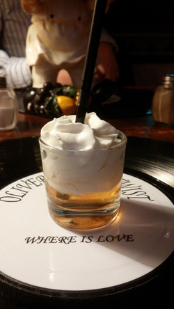 Shot of Caramel Rum - A Canarian Speciality