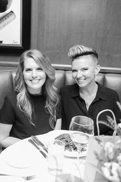 Ashley Williams and Deah Fisher with Fringe Salon & Color Bar