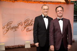 Gary Tinterow and Christopher Gardner; Photo by Jenny Antill