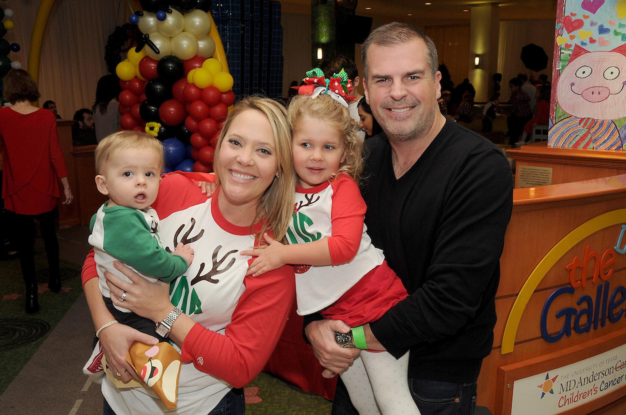 Sara and Craig Dagenais with Ella and Mason