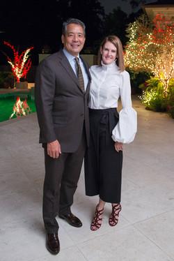 Frank and Stephanie Tsuru