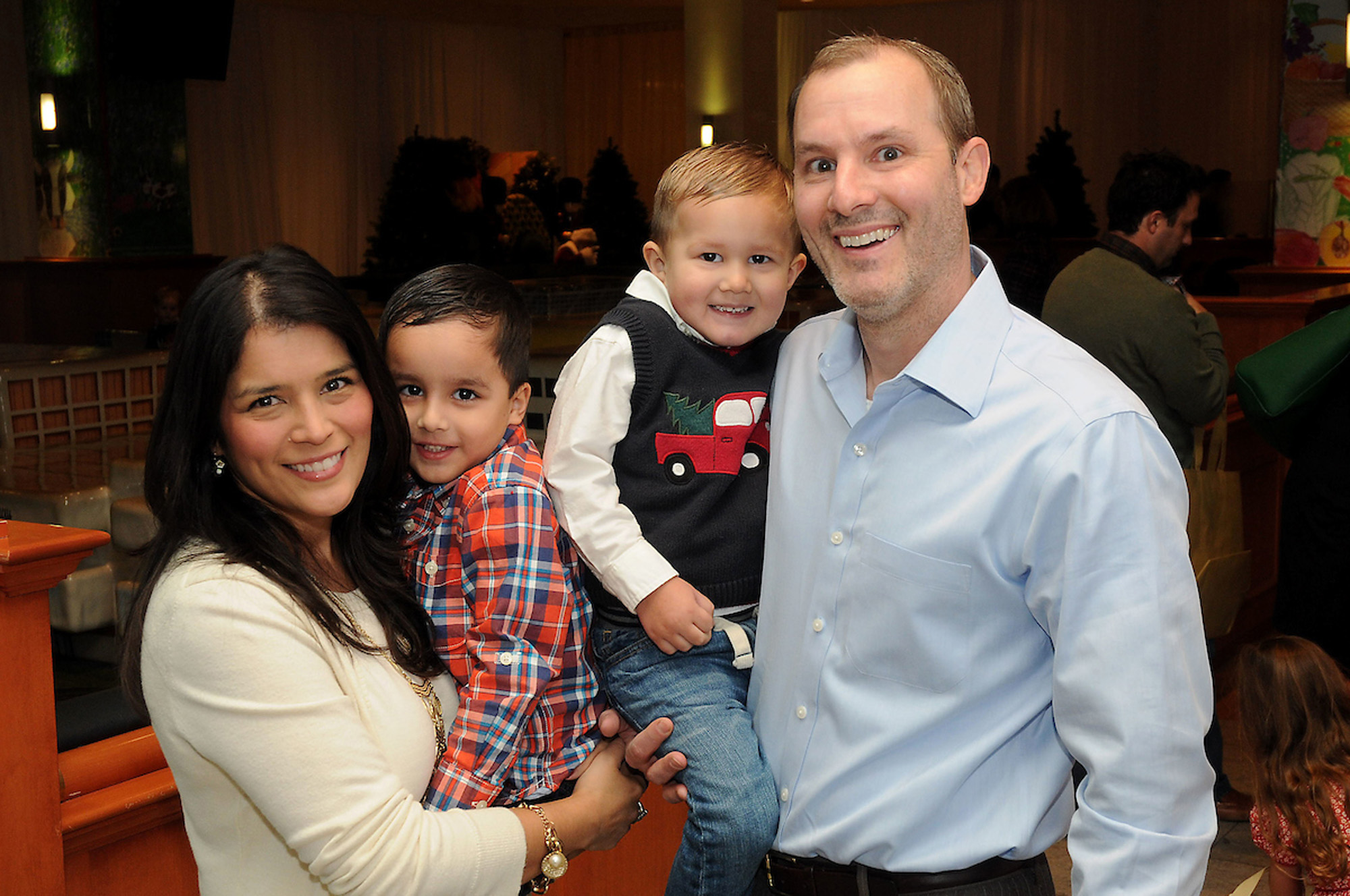 Monica and Scott Rose with Eli and Ethan