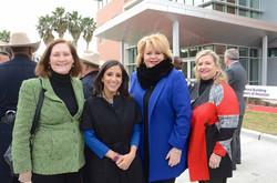 Diane Englet, Crime Stoppers Exec. Director Rania Mankarious, Council Member Brenda Stardig, Katrina