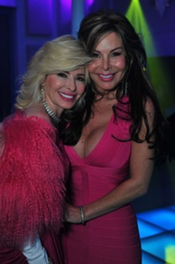 Nancy Marcus Golden and Kellie Letsos
