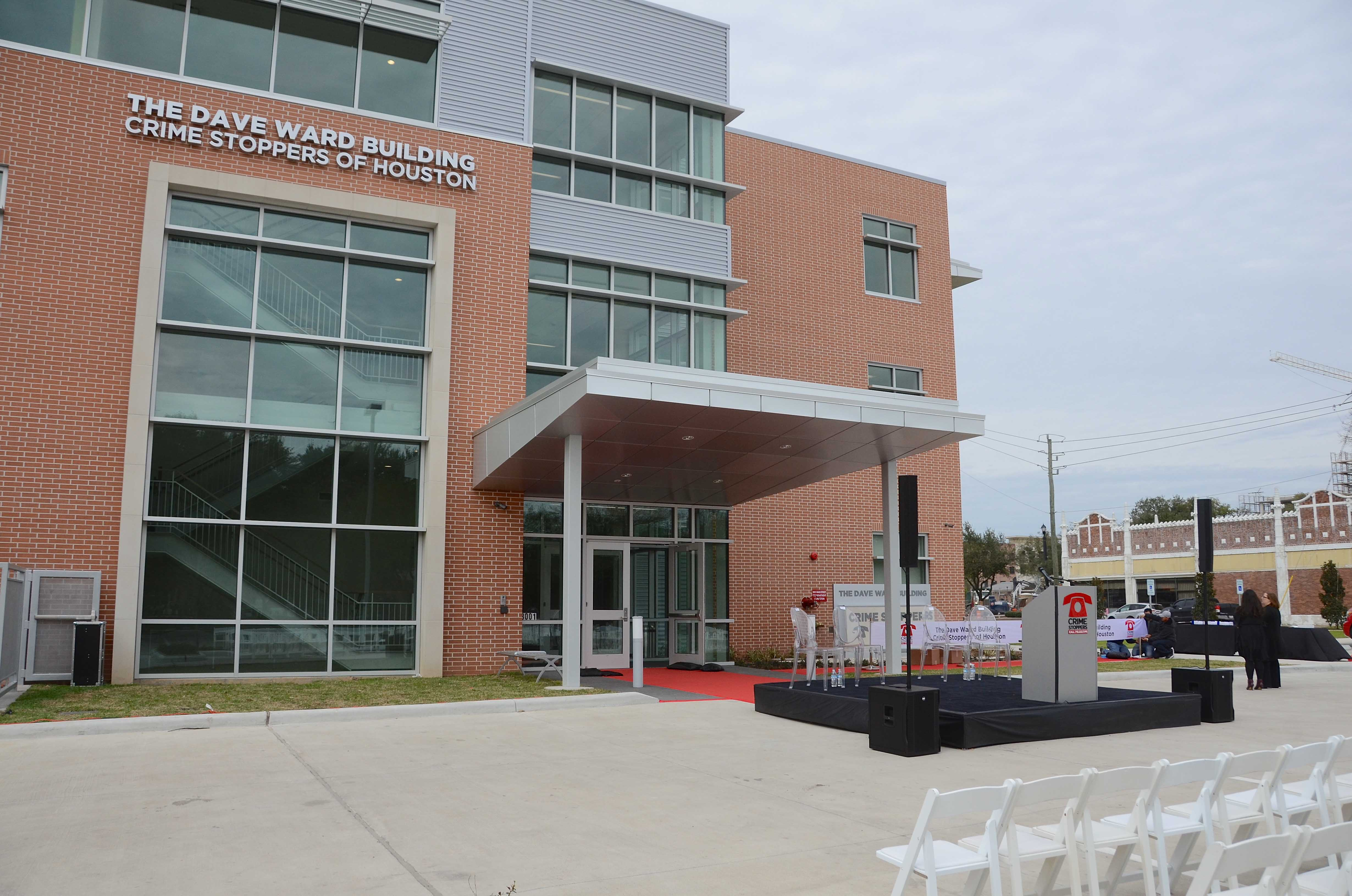 The Dave Ward Building, Crime Stoppers of Houston