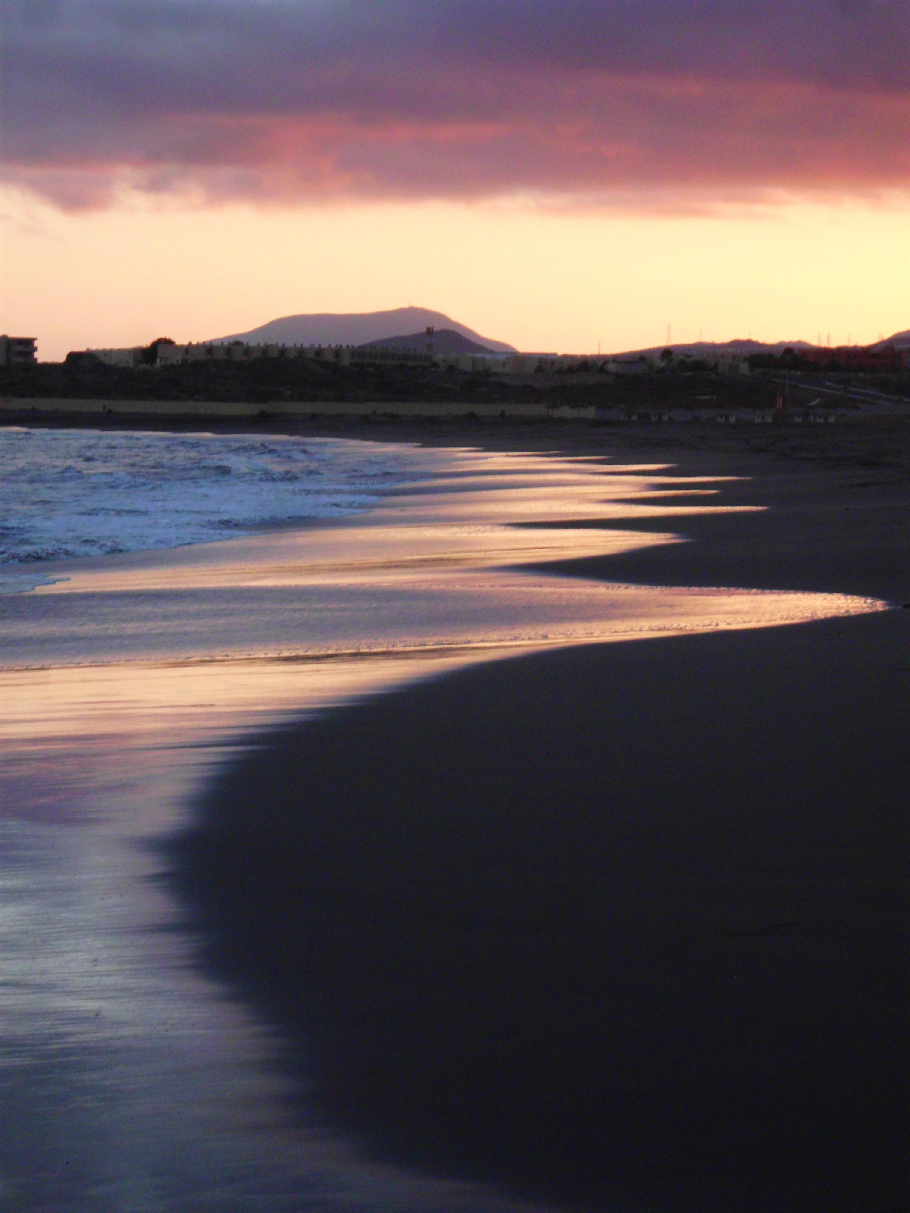 Sunset at Playa de La Tejita