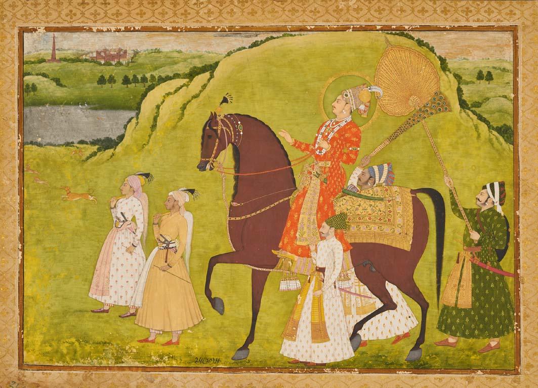 Portrait of Maharaja Abhai Singh Rid