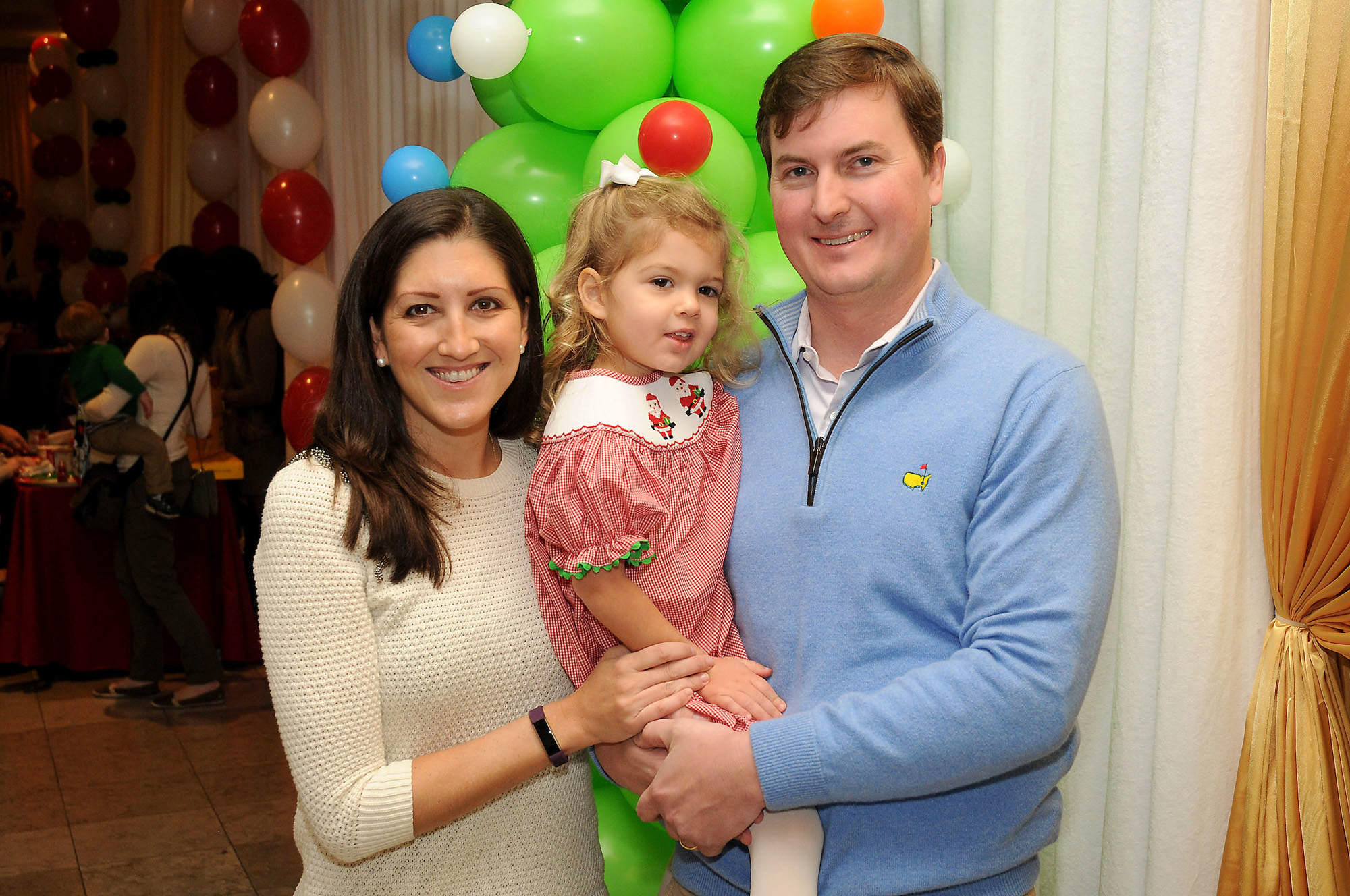 Caroline and Will Brown with daughter Margaret