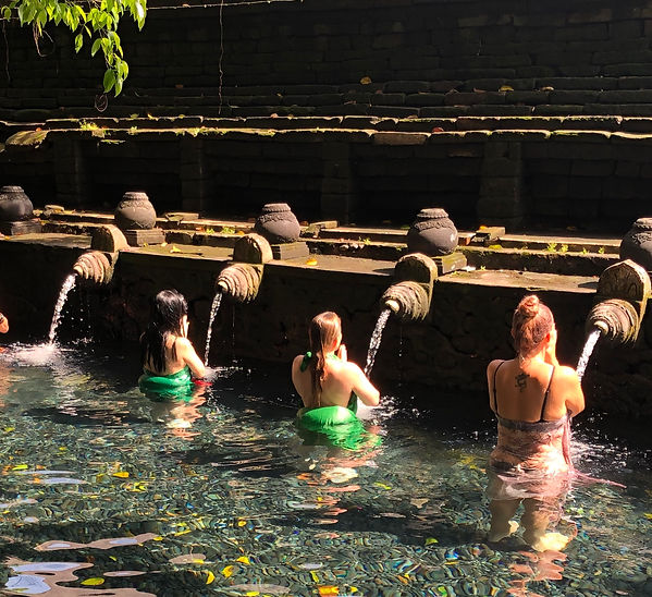 Tirta Empul Temple- purification ritual