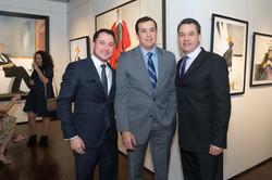 Felipe Castillo, Karlo Morgado, Mauricio Vallejo