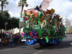 Carnival Float in Santa Cruz de Tenerife