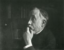 Self-portrait in Library