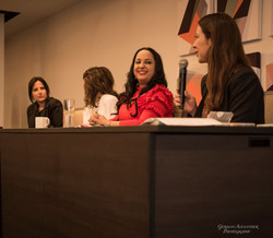 Jacquelyn Aluotto, Diane Caplan, Dr Noreen Khan Mayberry and Anika Jackson