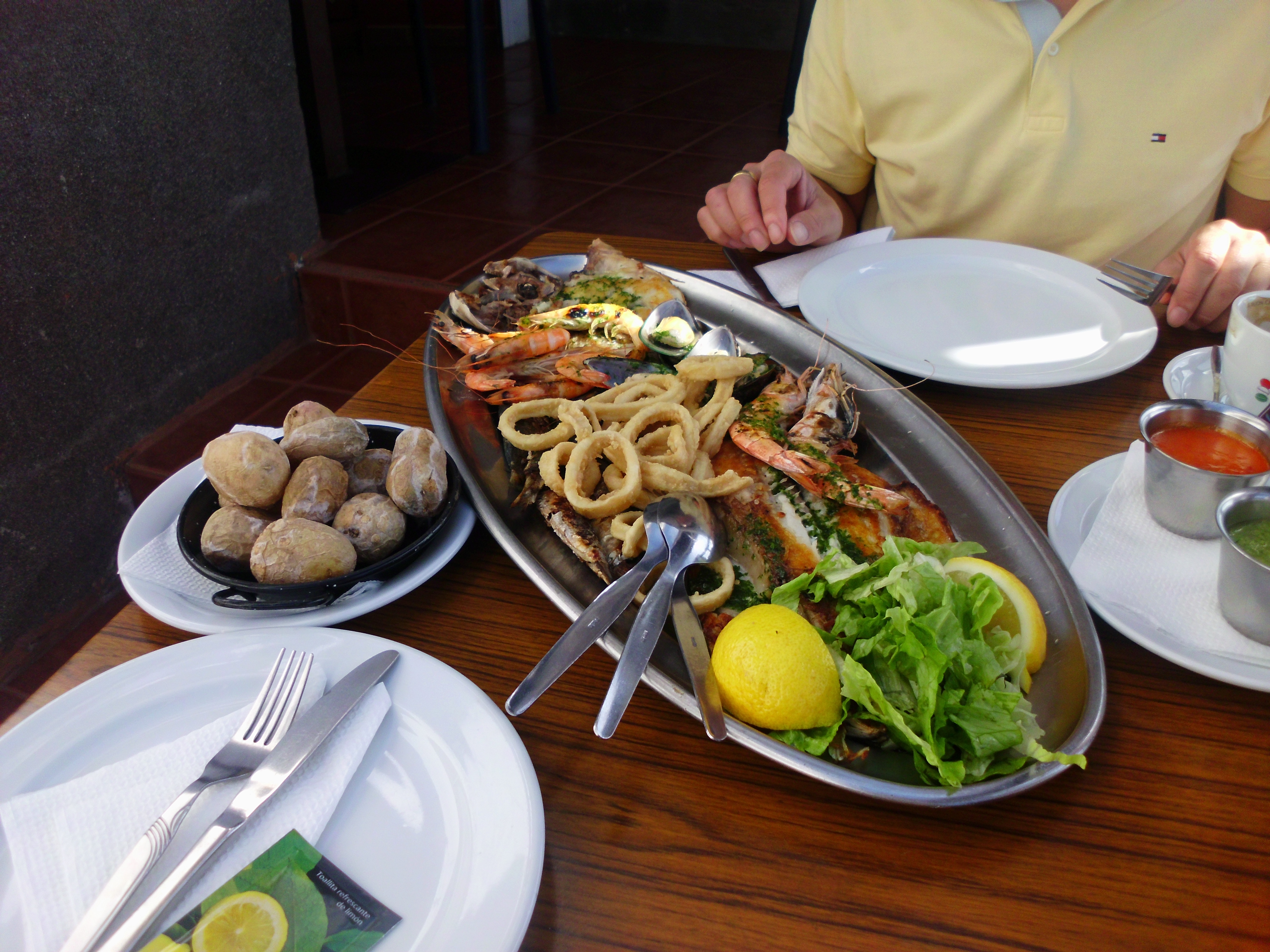Seafood Sharing Platter #3