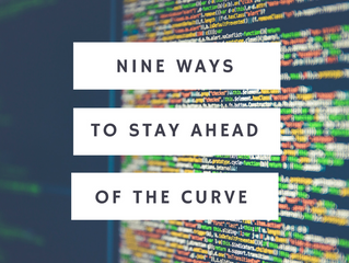 Nine Ways Tech Companies Can Stay Ahead Of The Curve