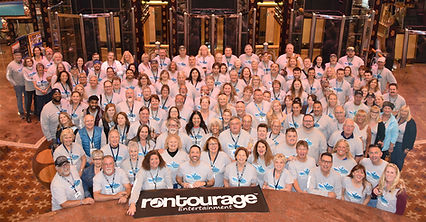 Rontourage 3 group photo Facebook group.