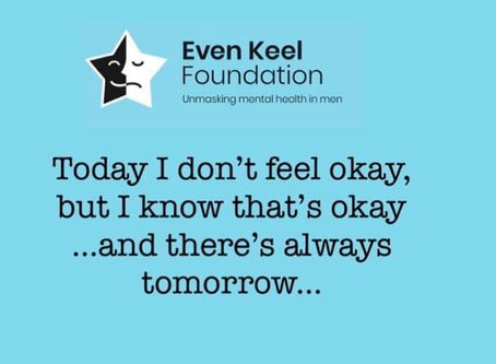 Today I Don't Feel Okay, But That's Okay