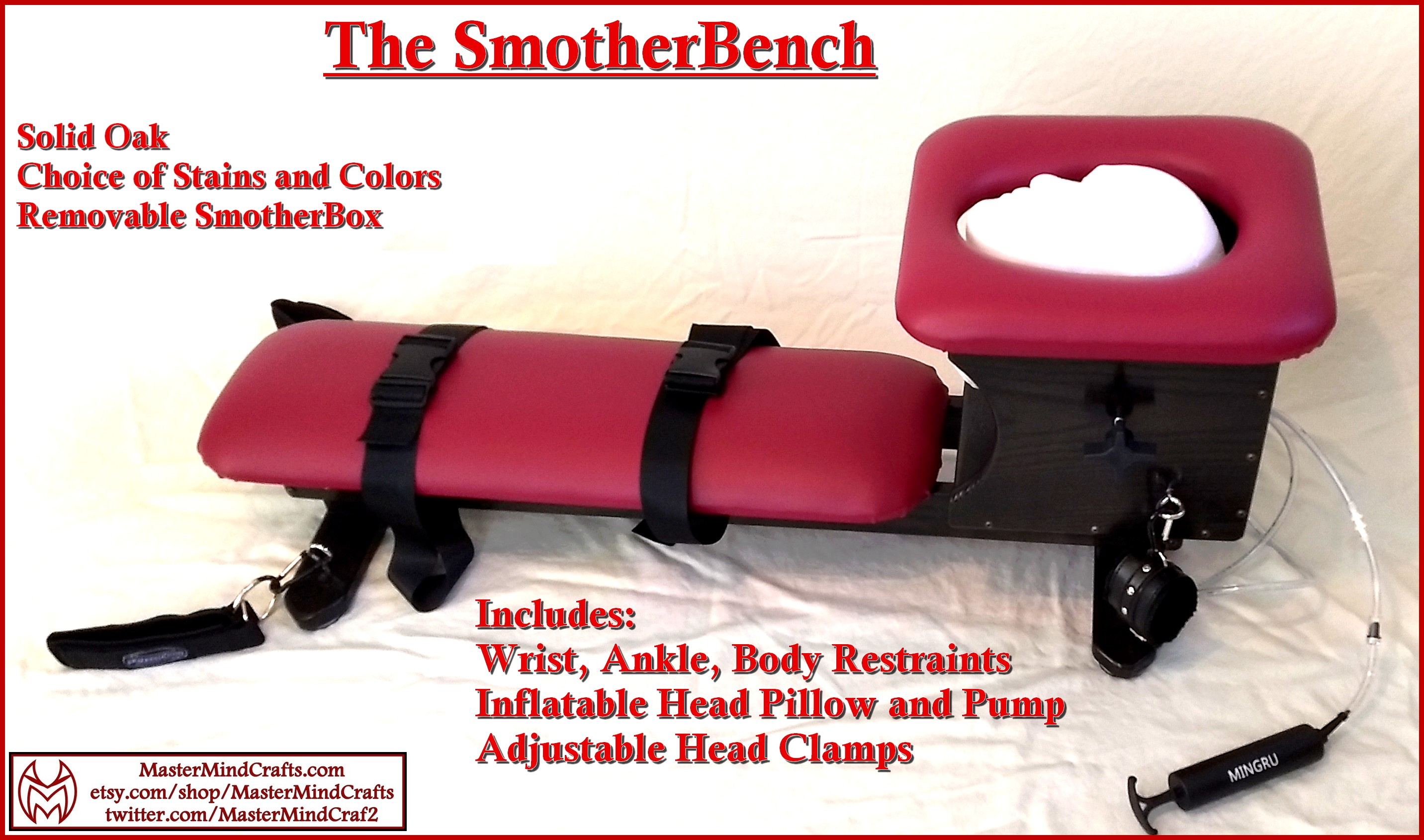 SmotherBench (Smotherbox, Queening Chair)