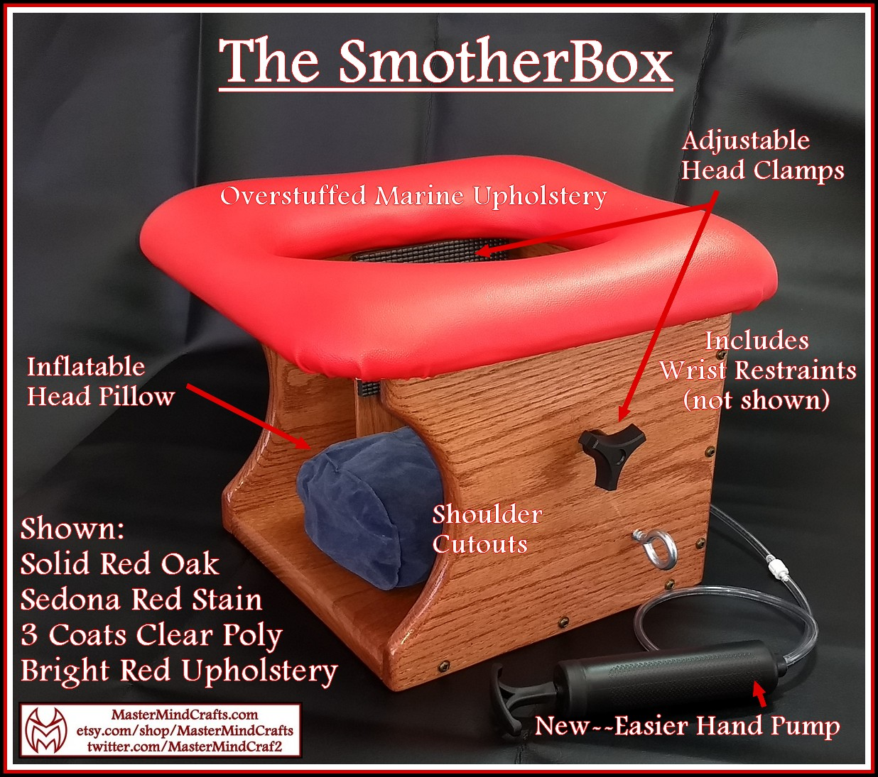 SmotherBox Red sedona 1