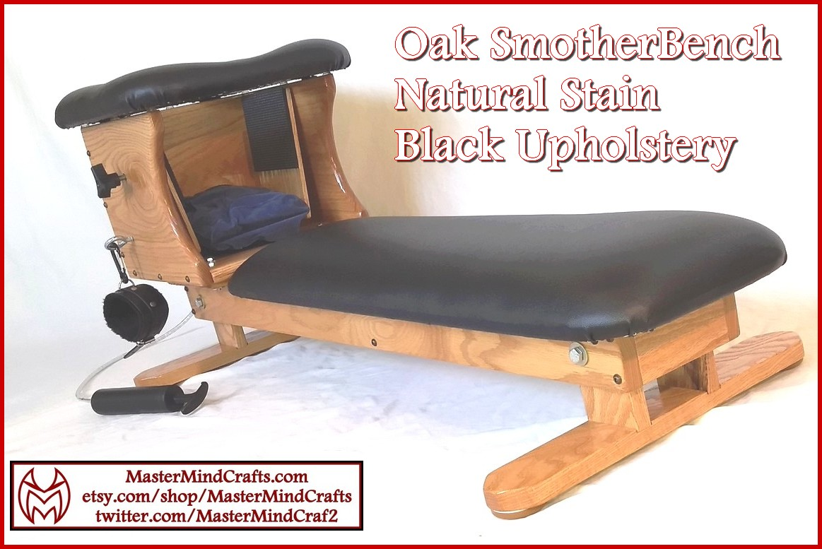 Natural Stain, Black SmotherBench