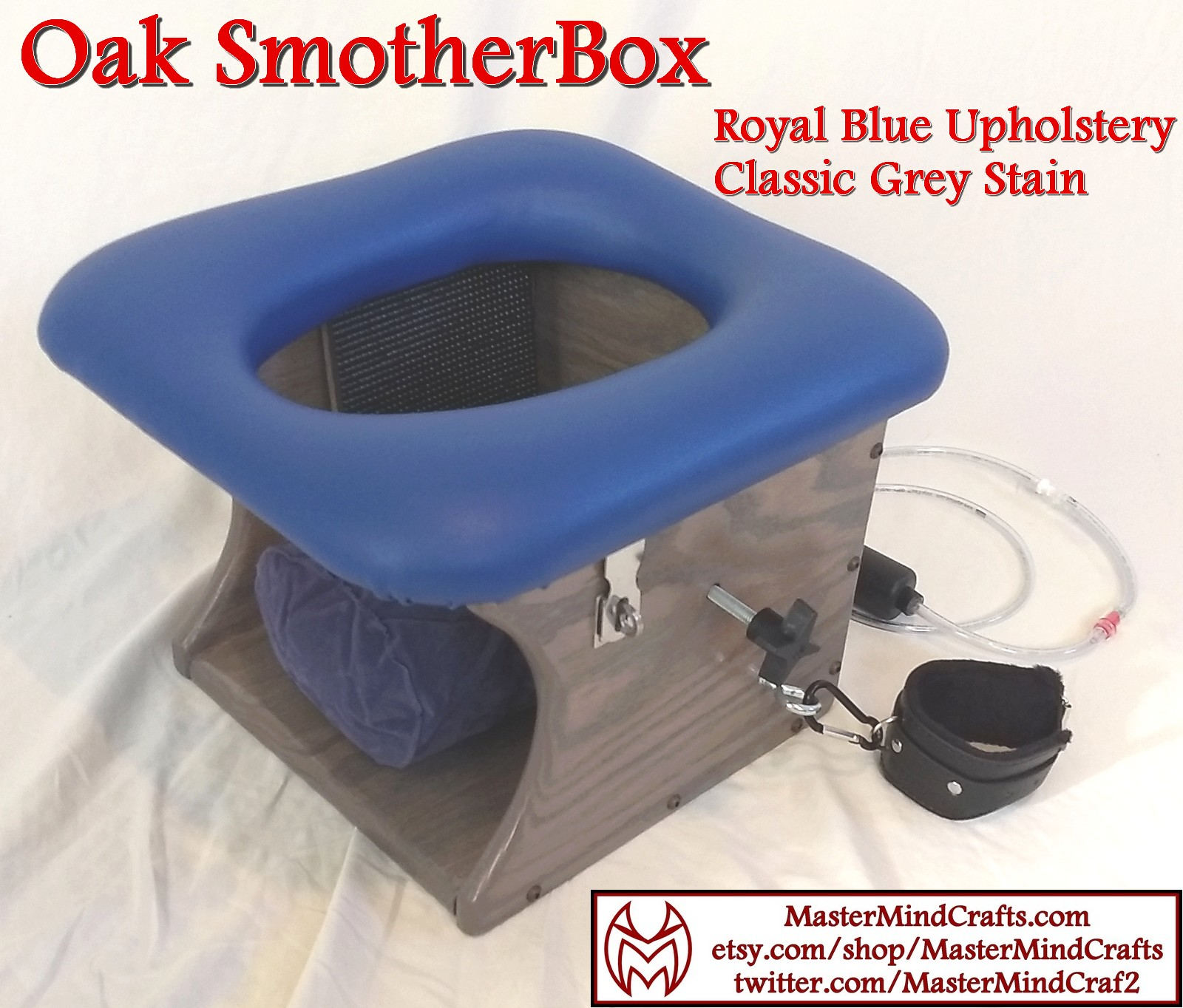 Oak SmotherBox Grey Royal BLue 4