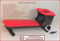 Ebony Stain, Bright Red SmotherBench
